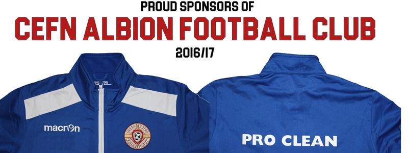Pro Clean Continue to support the Albion