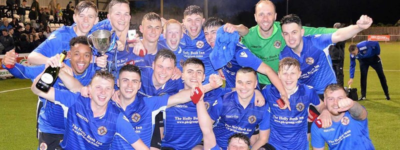 Cefn Albion are crowned league cup champions