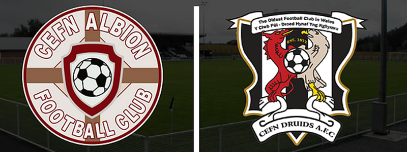 Cefn Albion and Cefn Druids AFC Links Confirmed