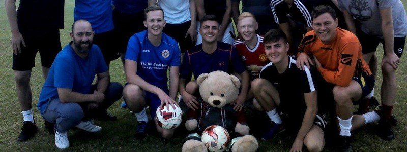 Jill the bear visits the Albion