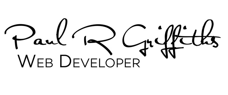 Paul R Griffiths - Web Developer