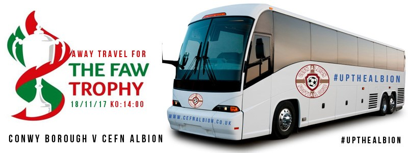 Welsh Trophy R4 | Conwy Borough (away) Travel News