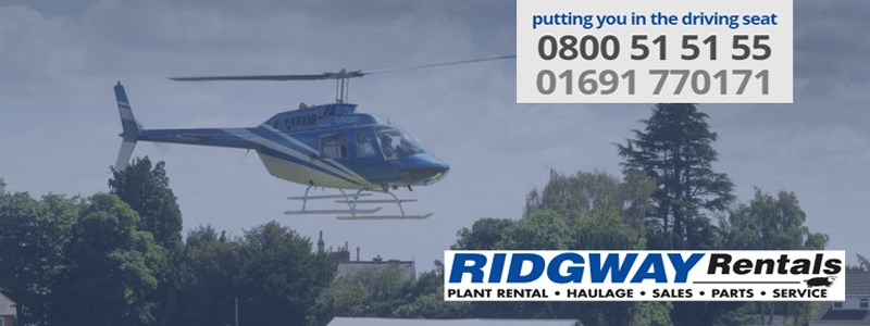 Ridgway rentals donate helicopter ride for two for Marblehead Johnson raffle
