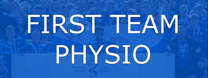 First Team Physio Wanted